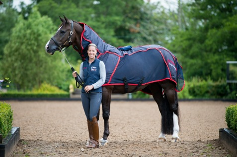 Charotte Dujardin & Valegro - FMB Therapy Systems - Oaklebrook Mill, Newent , Gloucestershire, United Kingdom - 07 July 2014
